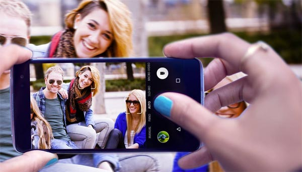 Alcatel IDOL 4 360 degree photos, true-to-life colours