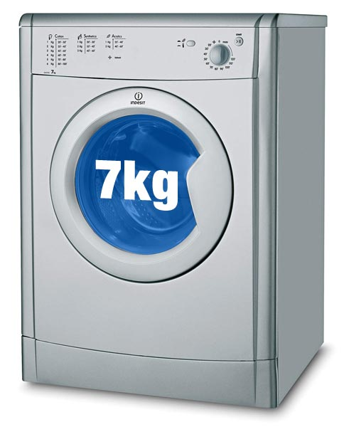 Indesit IDV75S Tumble Dryer with 7kg capacity