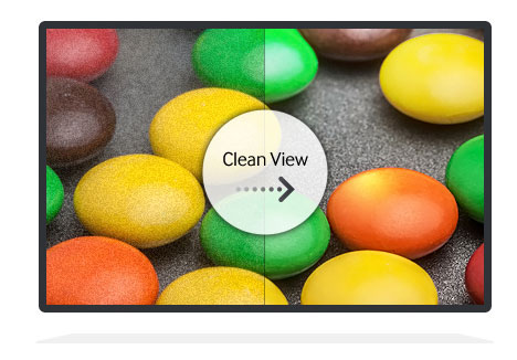 Full HD technology, crystal clear picture, Digital Clean View tech and Wide Colour Enhancer