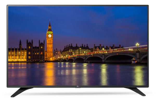 LG LH604V 43 inch TV with smart capabilities