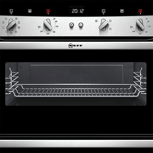 Neff U15M52N3GB Double Oven with Circotherm technology