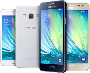 Samsung Galaxy A3 premium metal design