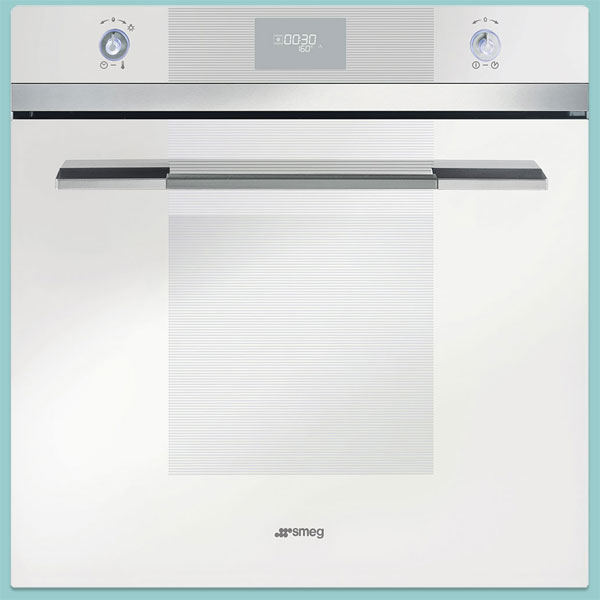 Smeg SFP109B Linea single oven in white