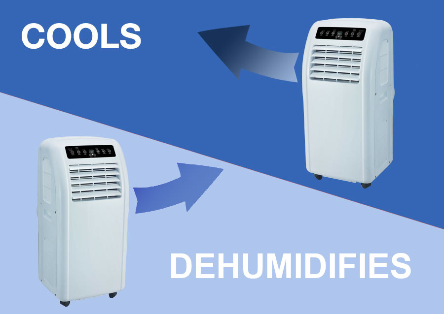 Dehumidifier Makes Room Cooler