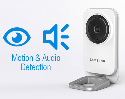 Motion and audio detection