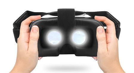 16a2456c14c electriQ 3D VR glasses for phones with black remote control VR02 ...