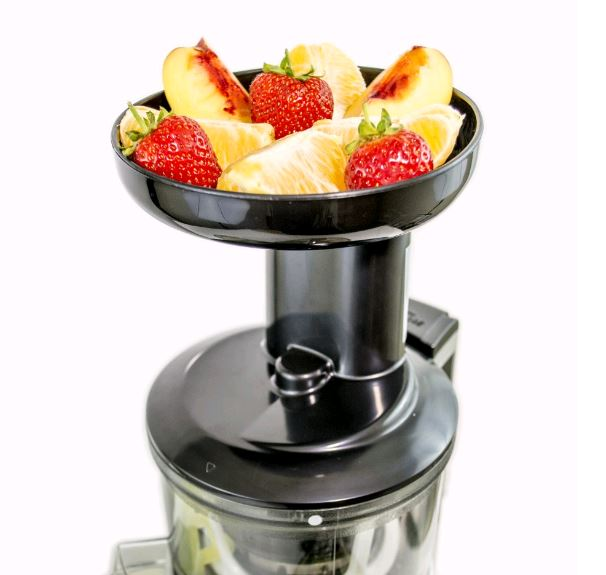 ElectriQ Premium Slow Juicer great for cold pressed Greens Juices and Smoothies - BPA Free ...