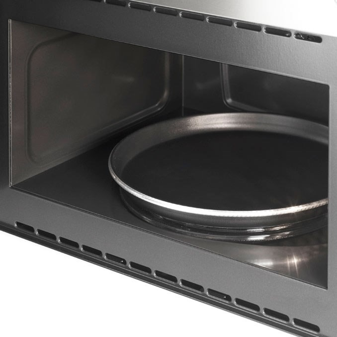 whirlpool built in microwave with recessed turntable