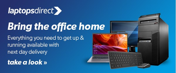 Everything you need for working from home - Laptops Direct