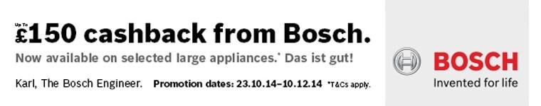 Bosch Autumn Cashback