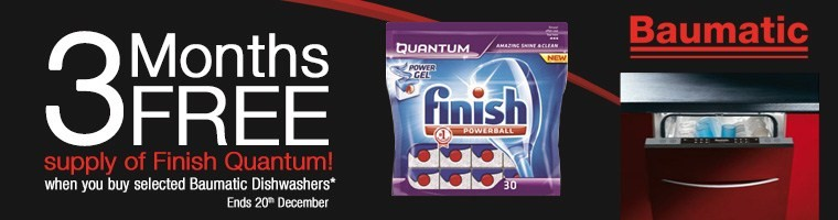 Baumatic Free Dishwasher Tablets