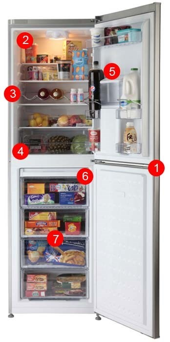 CFD6914APS fridge freezer