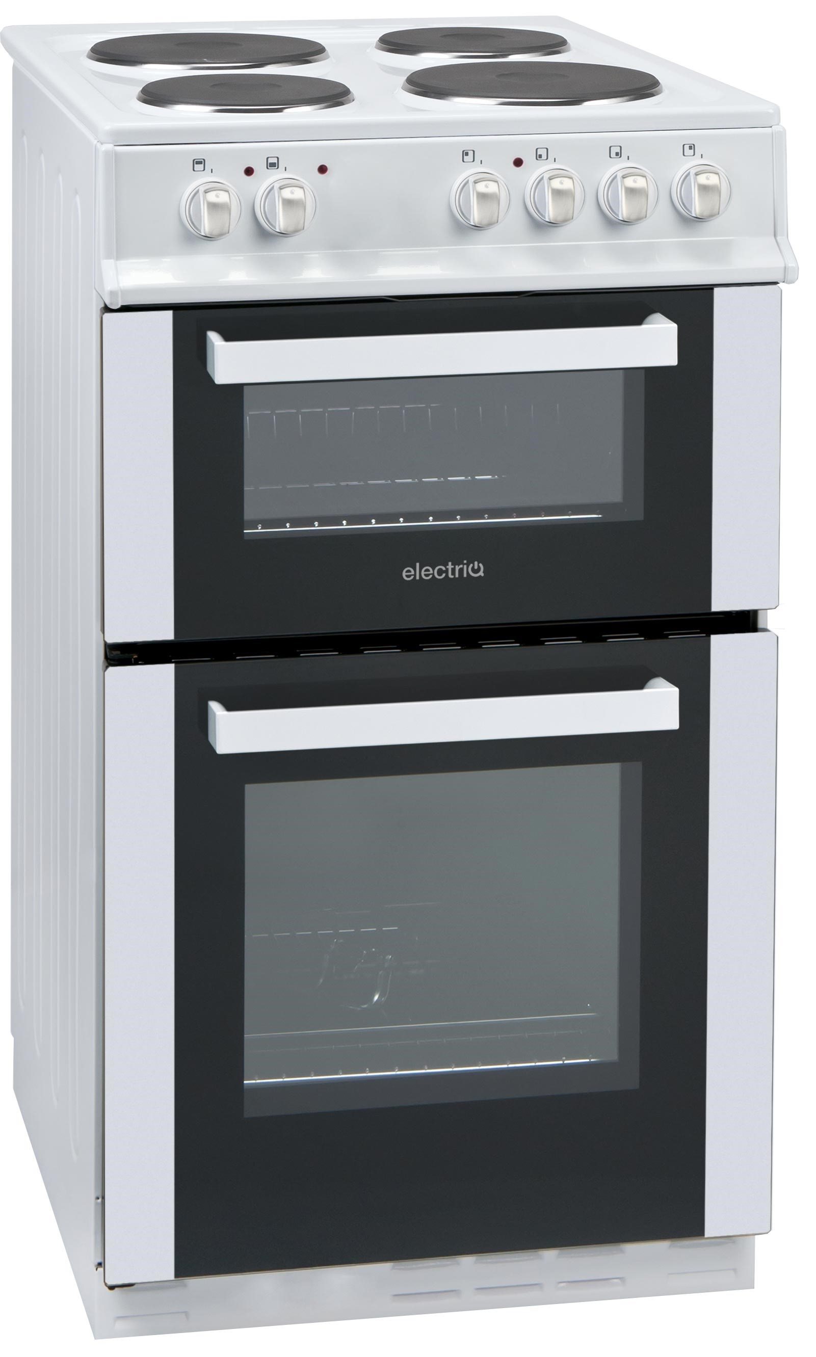 Affordable Electric Cooktops ~ Electriq cm electric twin cavity cooker with solid