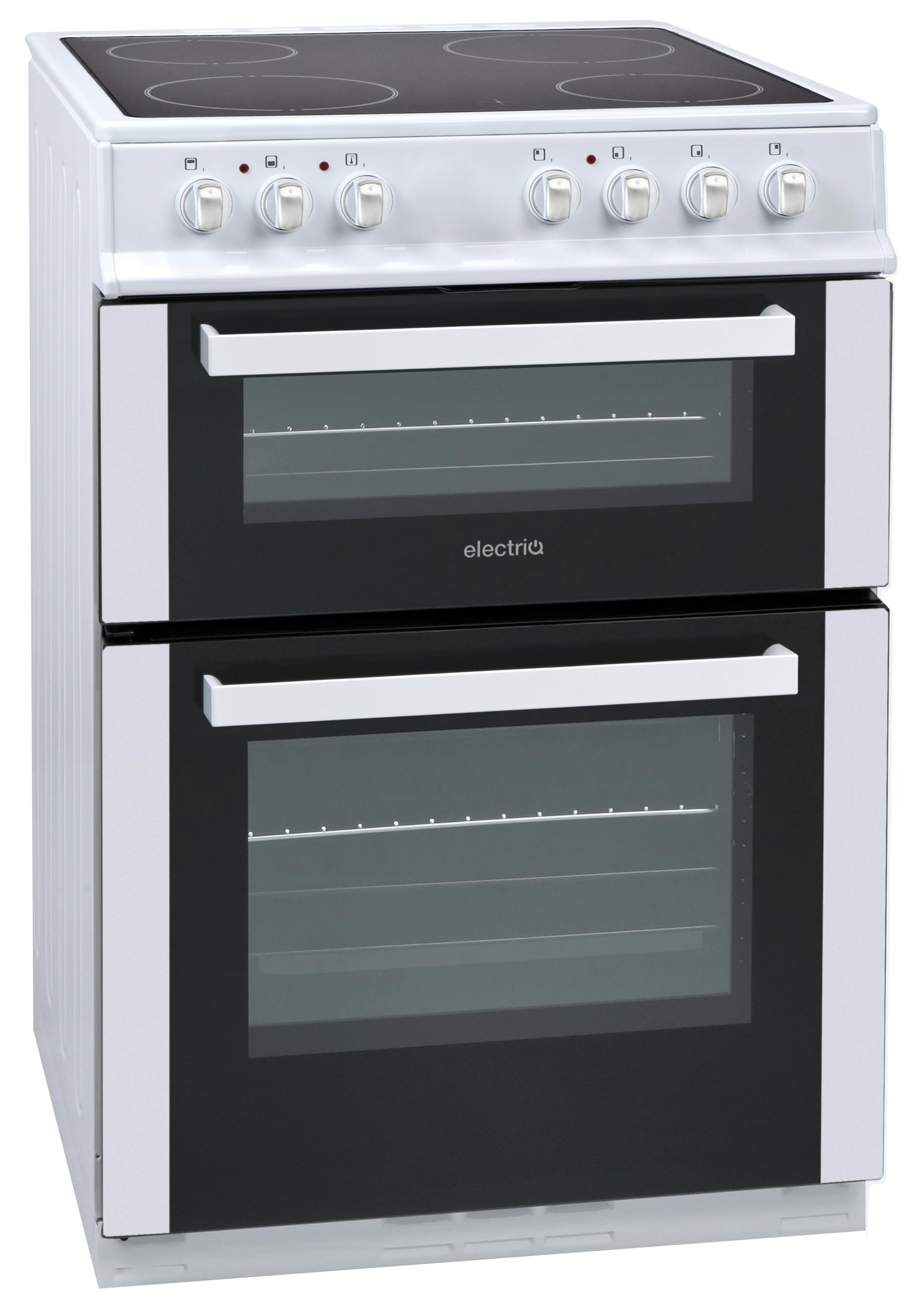 EQEC4W60 white freestanding cooker