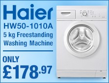 HW50-1010A 5 kg Freestanding Washing Machine
