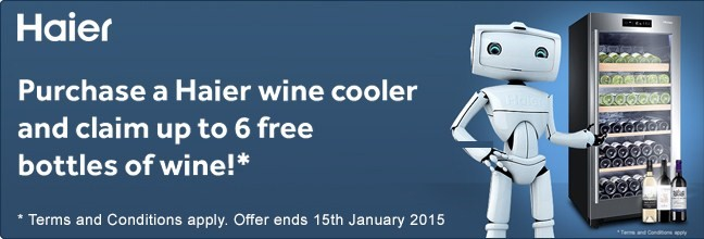 Haier Wine Offer