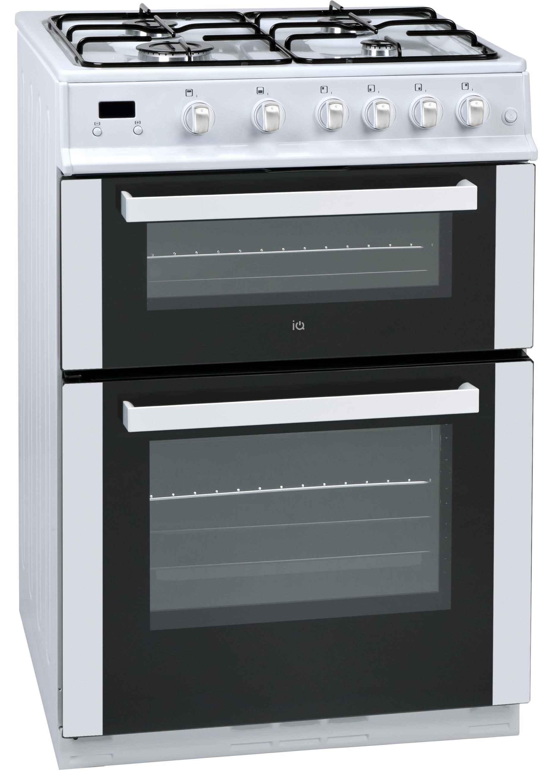 IQGC3W60 double oven gas cooker