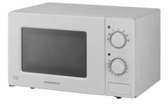 KOR6L77 white mechanical microwave