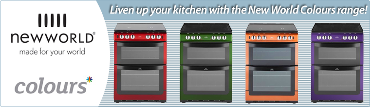 Liven up your kitchen with the New World Colours range!