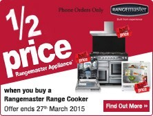 Rangemaster Half Price Appliance