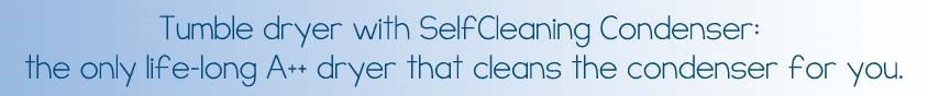 Self Cleaning Condenser