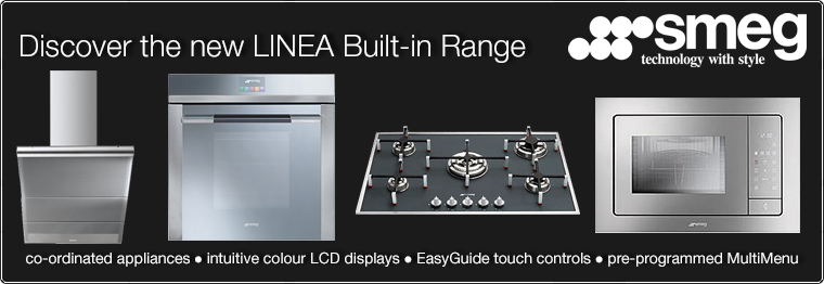 Discover the Linea Built-in range from Smeg