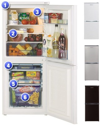 T5039 Fridge Freezer