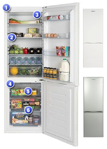 TF60183 Fridge Freezer