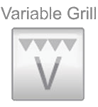 Variable grill