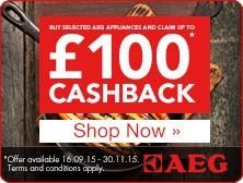 AEG National Cashback