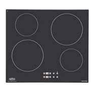 Black 60cm Induction Hob