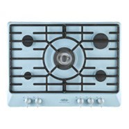 Duck Egg Blue 70cm Gas Hob