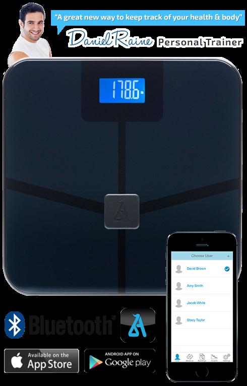 Blueanatomy Wireless Smart Body Scale