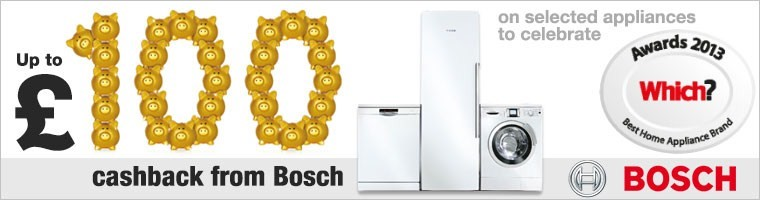Bosch £100 Cash Back