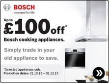 Bosch Cooking Autumn Trade In