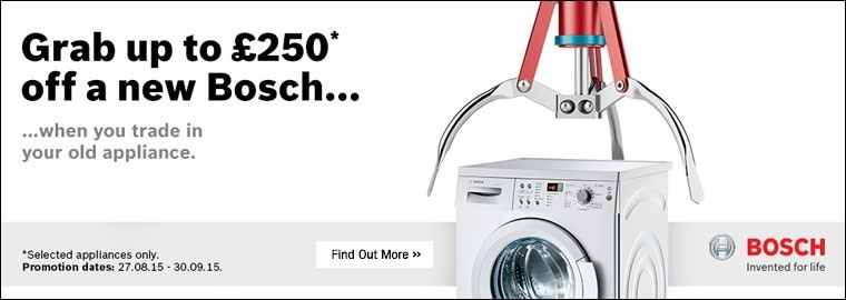 Bosch Summer Trade In
