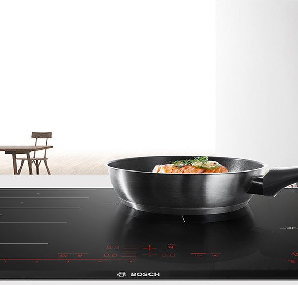 Bosch Induction Hobs.