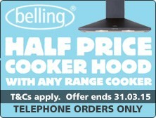 Half Price Cooker Hood offer from Belling