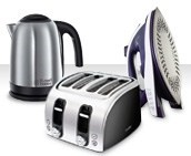 Kitchen essentials - irons, microwaves, toasters, kettles and more