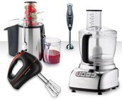Food processing - Juicers, dessert makers, blenders, mixers and more