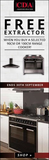 CDA Free Extractor when you buy a selected Range Cooker