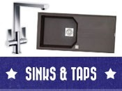 Clearance sinks and taps