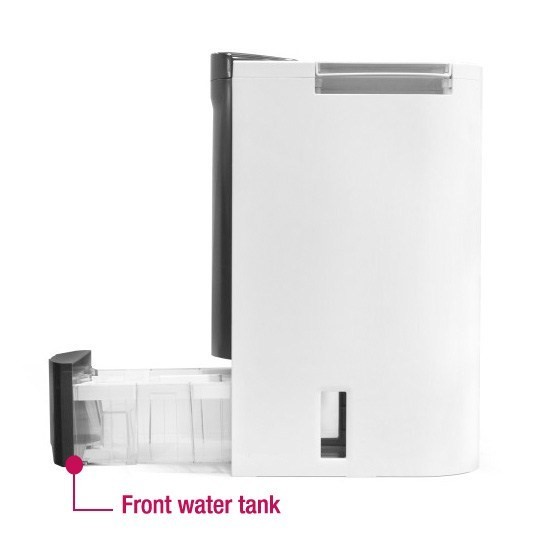 front water tank