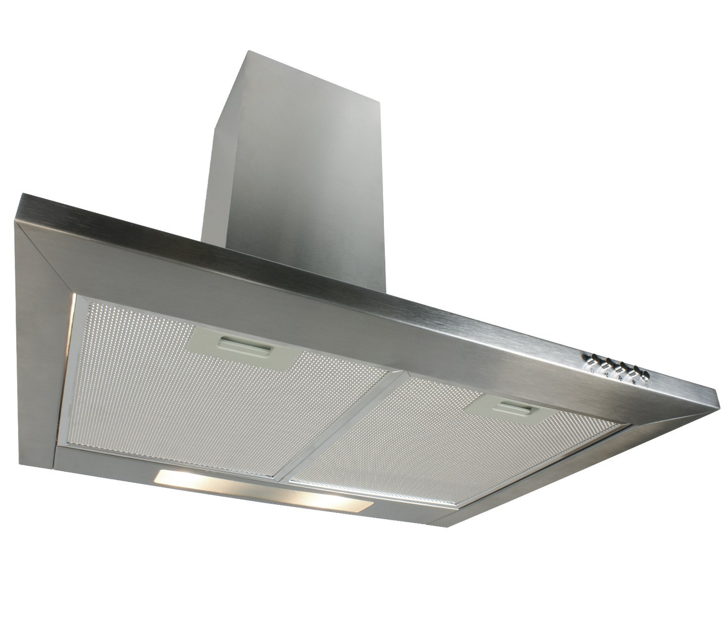 Electriq 60cm Traditional Chimney Cooker Hood In Stainless