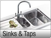ex-display sinks and taps