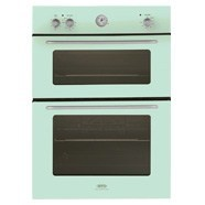 Pastel Green Double Oven