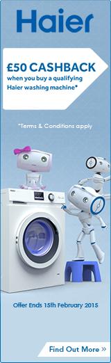 Haier Laundry Cashback