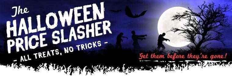 The Halloween Price Slasher Sale