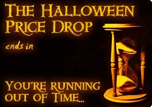 The Halloween Price Drop ends soon!