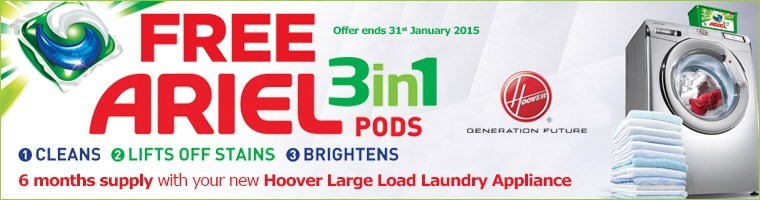 Hoover Ariel Laundry Offer